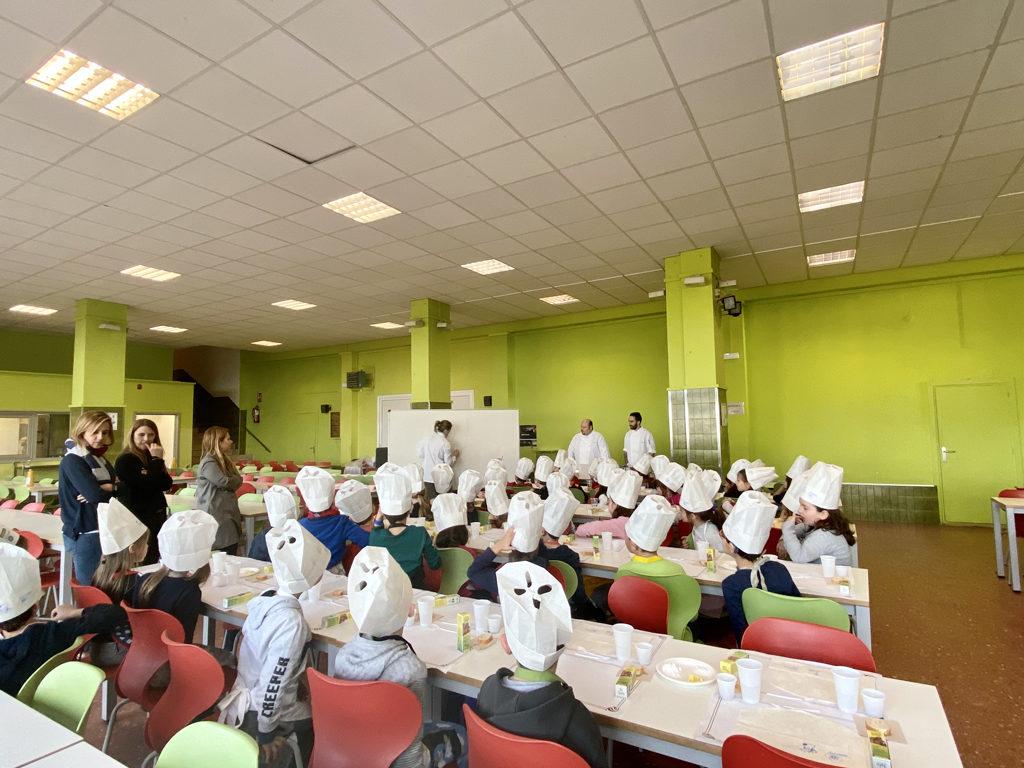 experiència sensorial a l'Escola Virolai